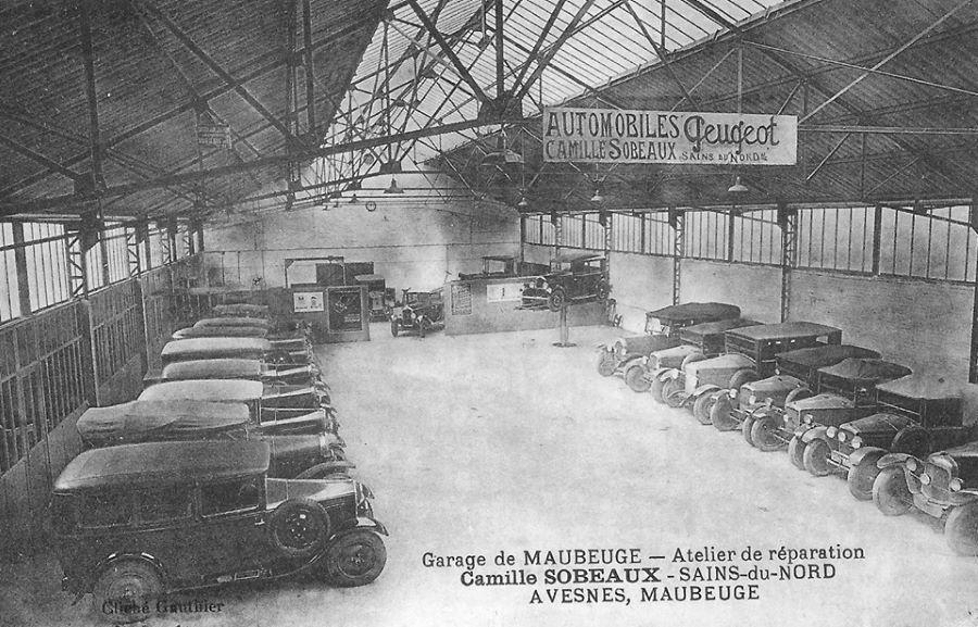 Maubeuge - Garage Sobeaux - Mitte 1920er