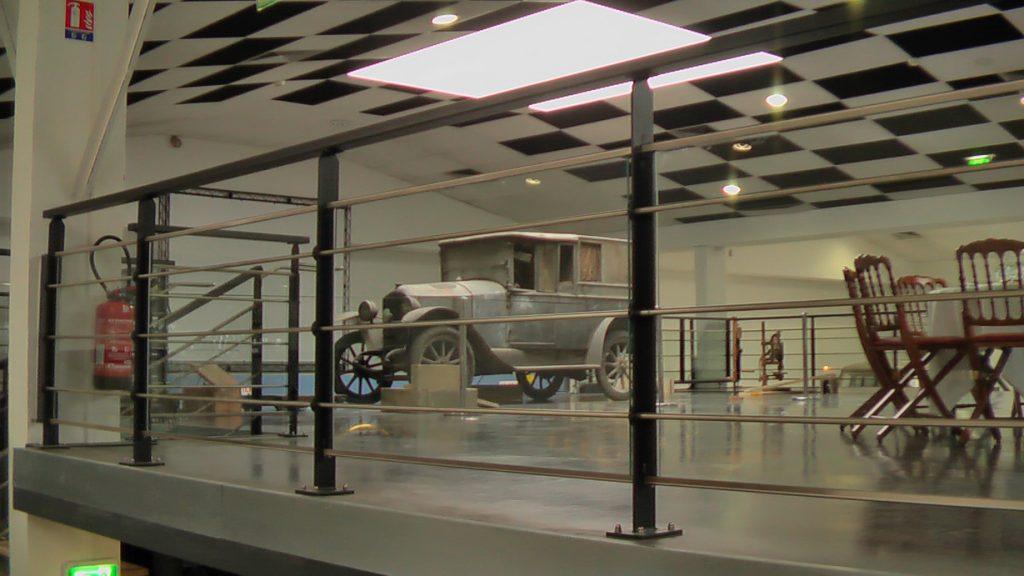 Der Standplatz im Musee Peugeot