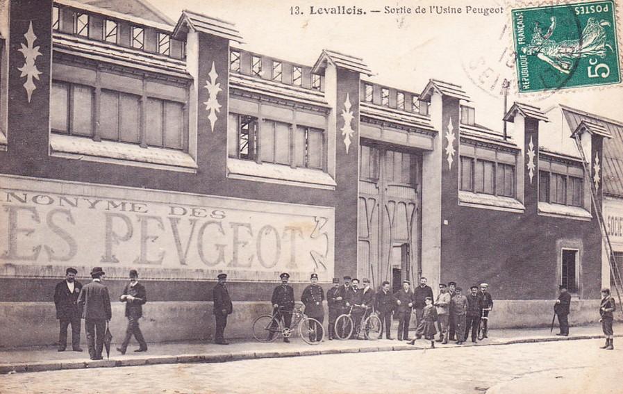 Peugeot Werk Levolloise-Perret ca. 1913