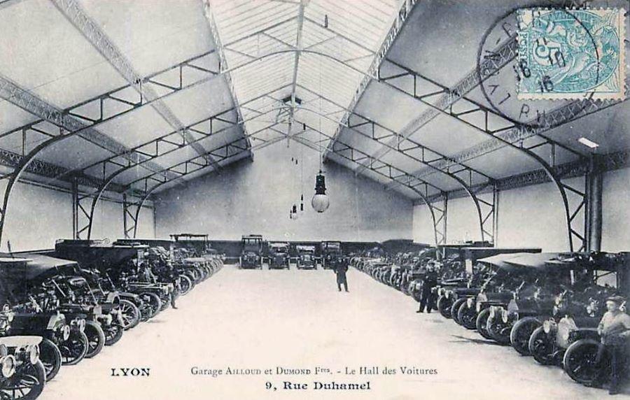 Lyon - Garage Alloued & Dumont Freres