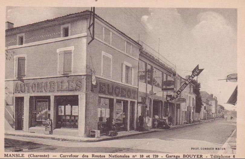 Mansle - Garage Bouyer