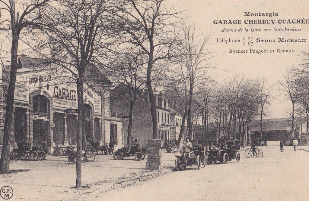 Montargis - Garage Cherbuy-Ouachee, ca. 1900