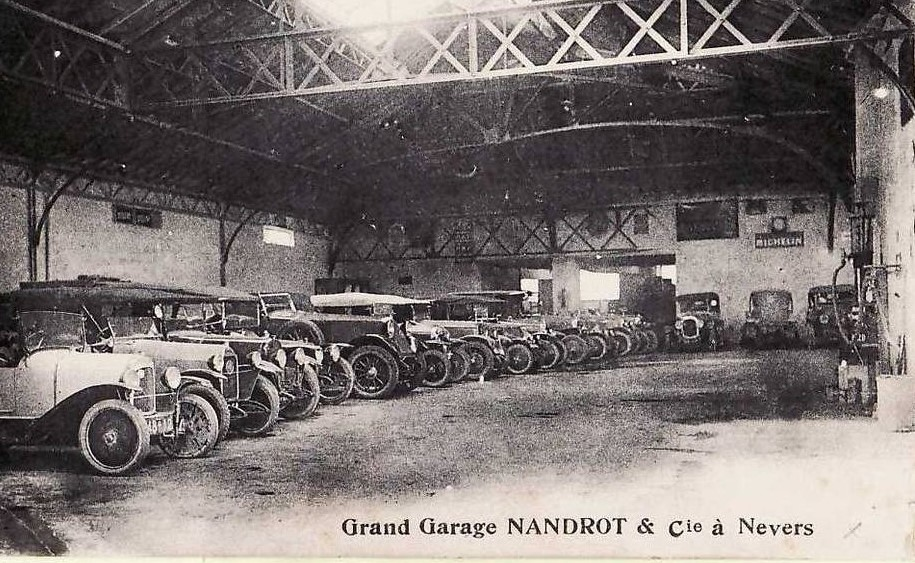 Nevers - Garage Nandrot - ca. 1925