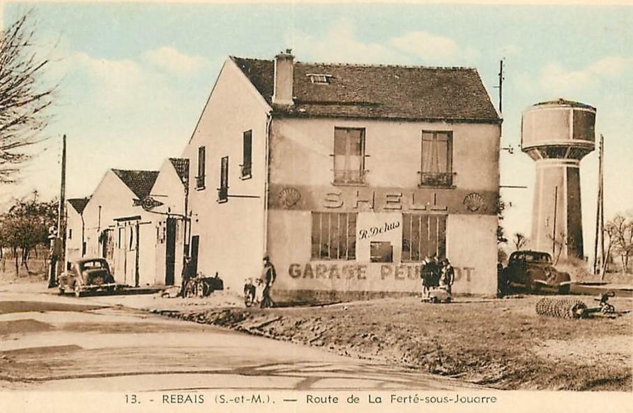 Die Garage R. Dubois in Rebais - ca. 1936