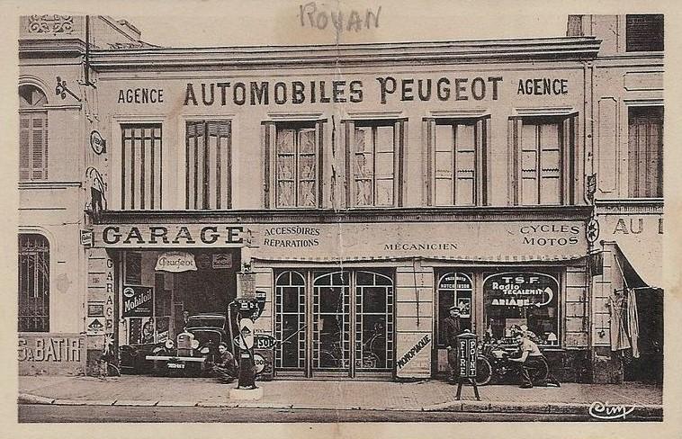 Royan - Garage G. Franc - wohl Anfang 1930er