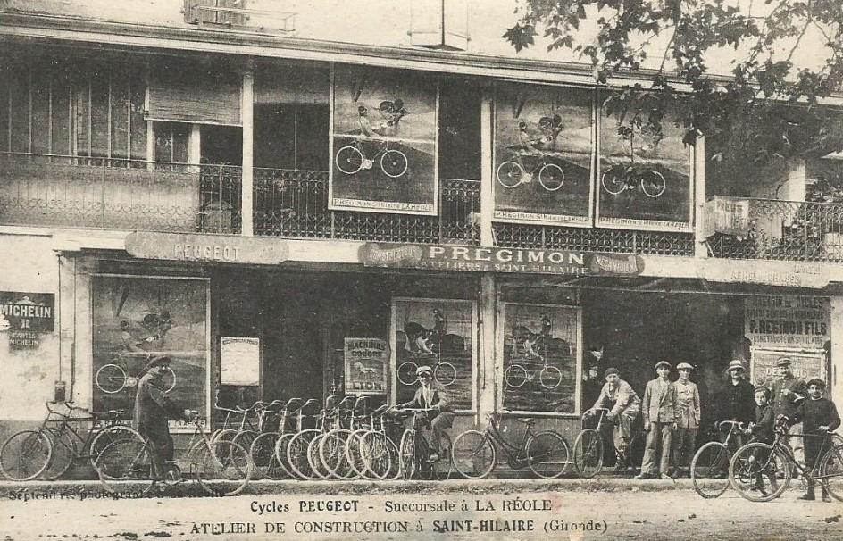 St. Hilaire - Peugeot Cacles um 1900