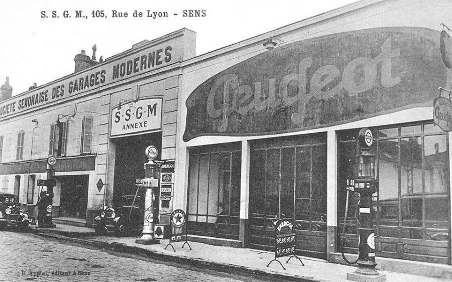 Sens - Peugeot a Rue de Lyon