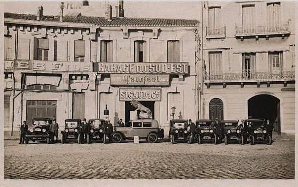 Sete - Garage du Sud-Est - Sigaud & Co