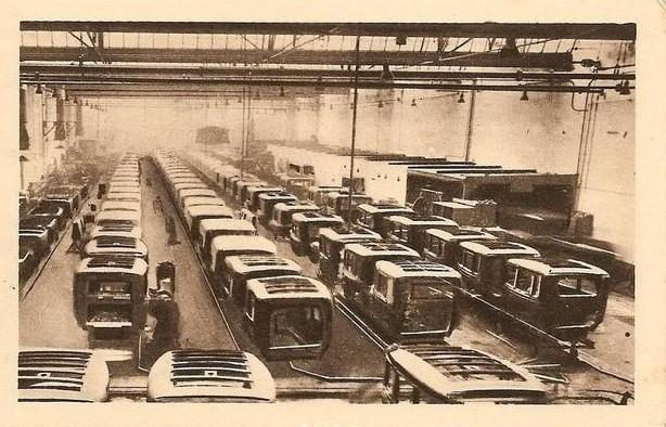 Peugeot Werk Sochaux: Es wird an mehreren Linien parallel gearbeitet