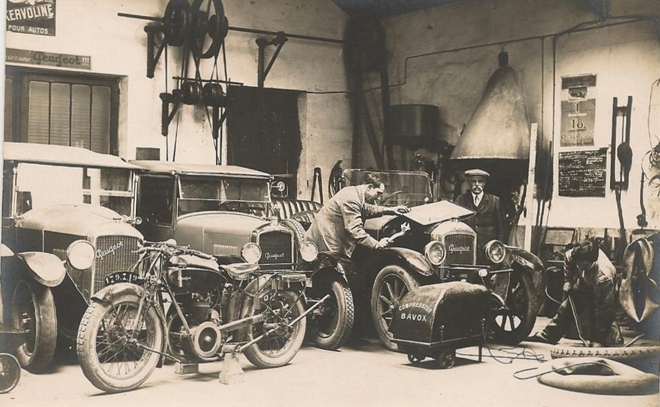 Troyes - Garage Geoffroy
