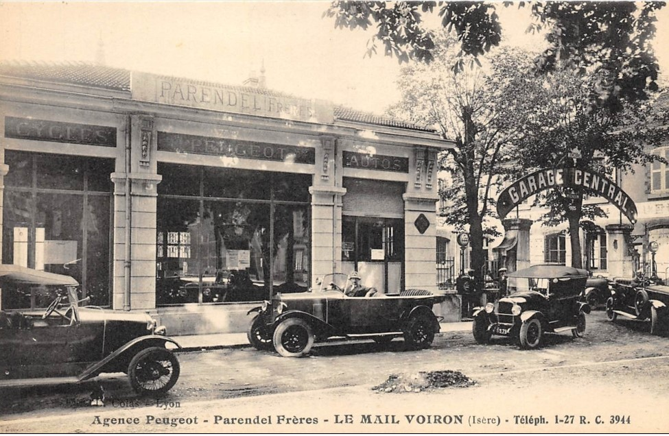 Voiron le Mail - Garage Central Parendel Freres
