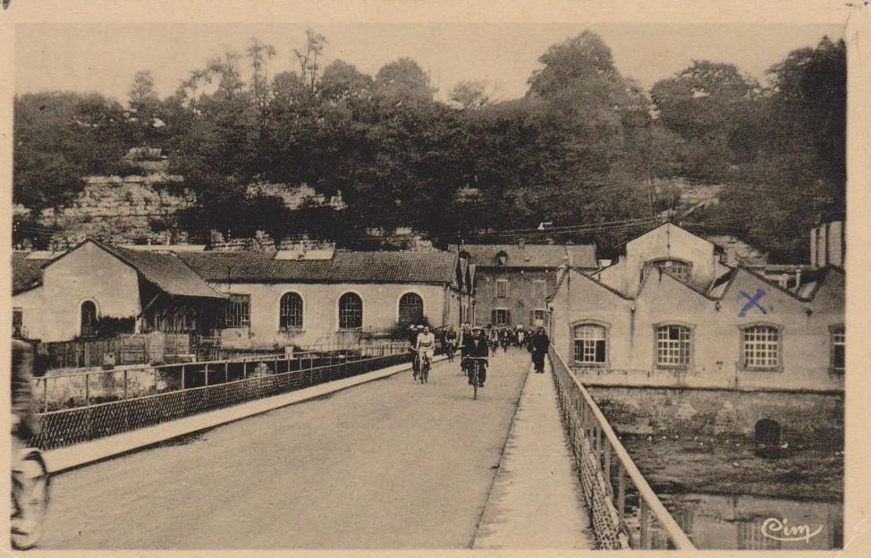 Peugeot Werk Valentigny: Werkseingang nochmal um etwa 1920