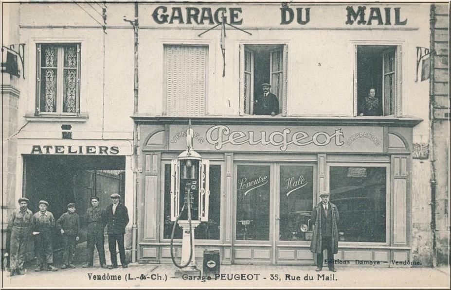 Vendome - Garage du Mail