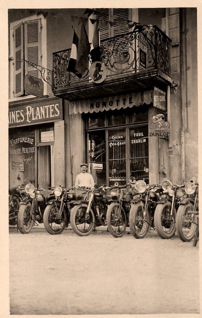Vinay - Motos Peugeot H. Nonotte