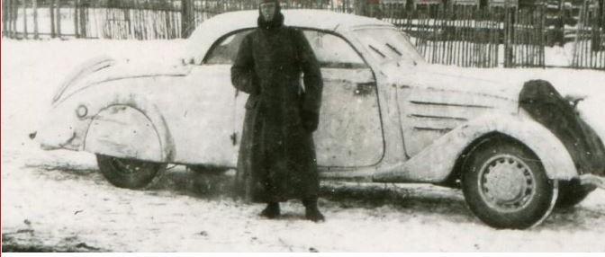 Peugeot Eclipse E4Y im russischen Winter