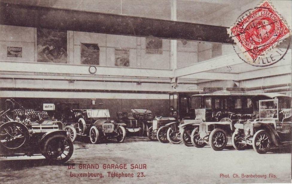 Die Grand Garage Saur in Luxemburg-Stadt