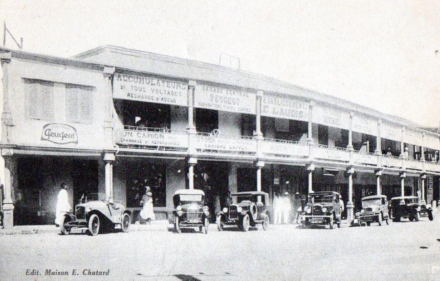 Peugeot Niederlassung in Tananarive