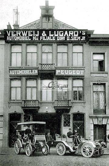 Verweij & Lugard - Peugeot Vertretung Den Haag