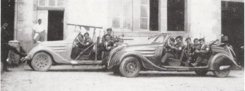 Peugeot Fahrzeuge in militärischer Nutzung