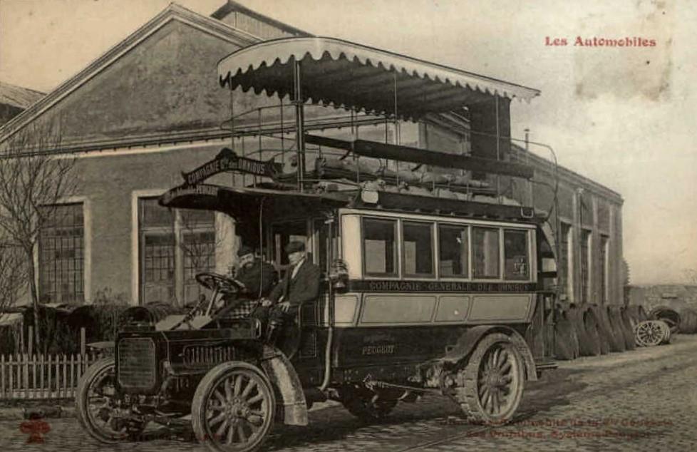 Straßenbahn in Besancon warb für Peugeot