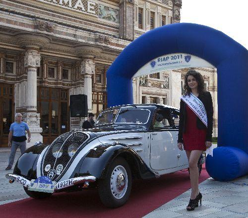 Impressionen Internationales L'Aventure- Peugeot-Treffen in Salsomaggiore Terme/Italien vom 13. - 15.5.2011