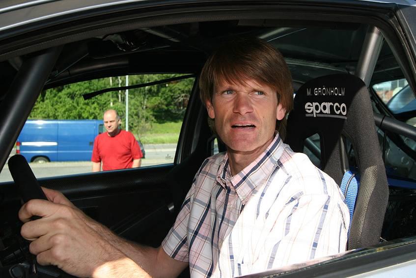 Marcus Grönholm im eigenen Peugeot 206 Rally