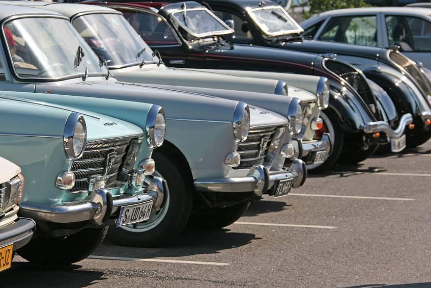 Peugeot-Treffen: Was die Autos eint - der Löwe und das Ziel Naantali