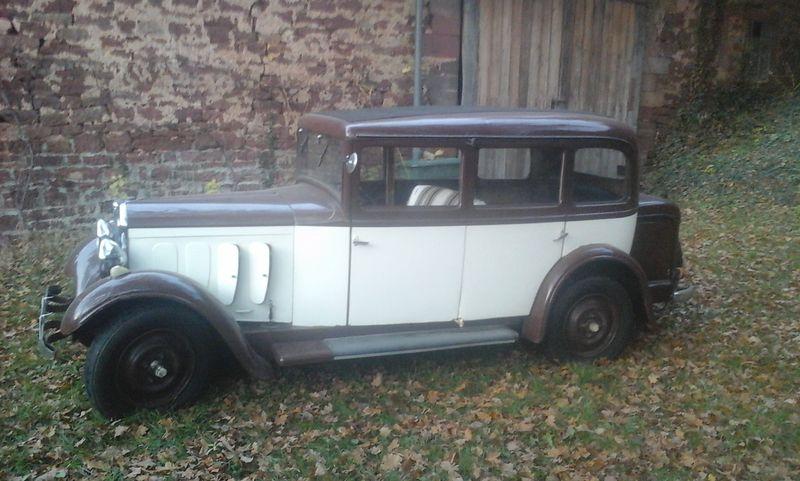 301 C, Baujahr 1932 - Besitzer Herr Bosch