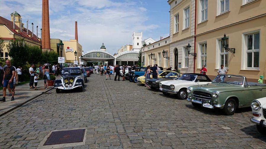 Impressionen vom  Internationale L'Aventure Peugeot Treffen in Prag vom 08. - 10. Juni 2018