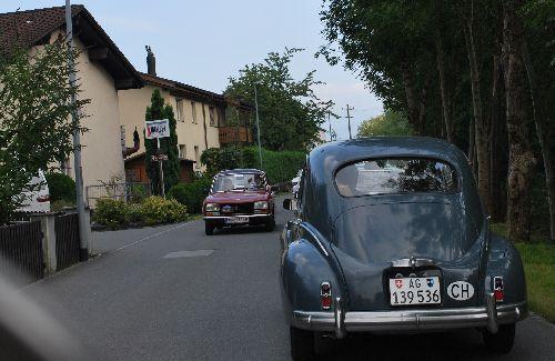 Impressionen Herbstausfahrt der Amicale Peugeot Österreich/Schweiz vom 19. – 21.9.2008
