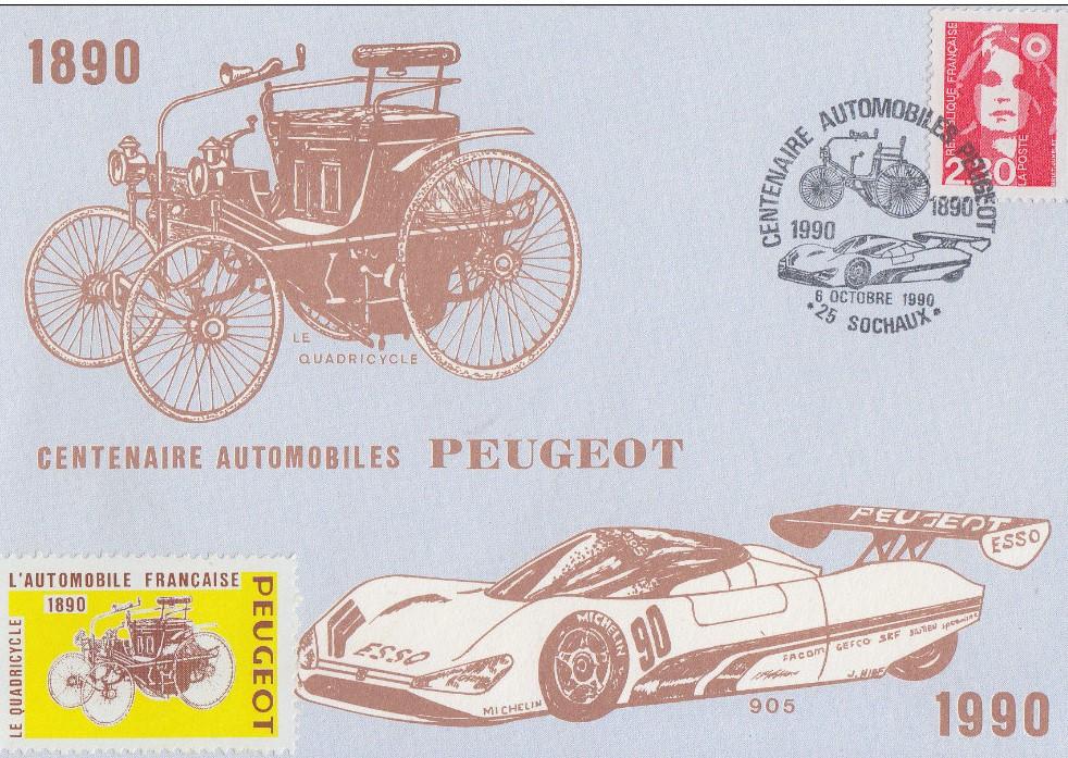 Peugeot-Modelle auf Sonderdrucken_11