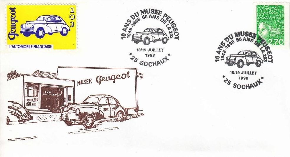 Peugeot-Modelle auf Sonderdrucken_10