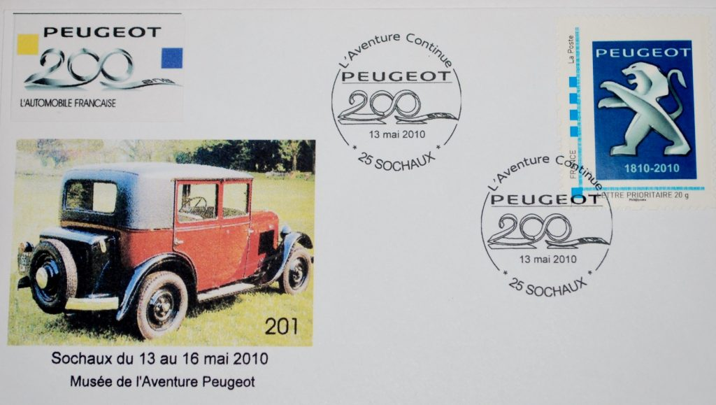 Peugeot-Modelle auf Sonderdrucken_9