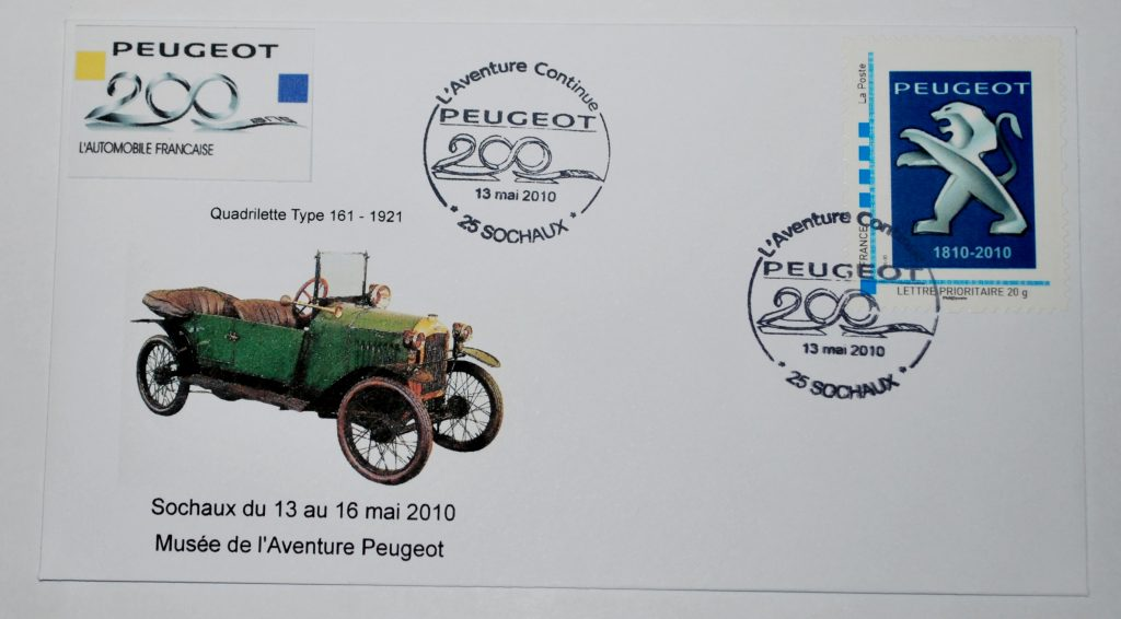 Peugeot-Modelle auf Sonderdrucken_7