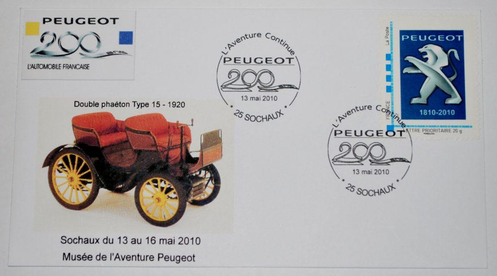 Peugeot-Modelle auf Sonderdrucken_5