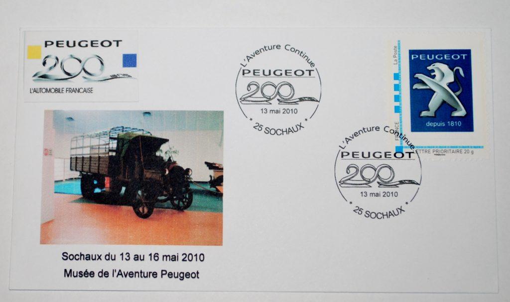 Peugeot-Modelle auf Sonderdrucken_6