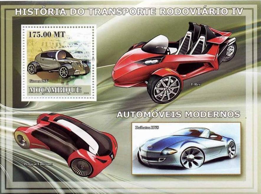 Peugeot-Modelle auf Einzelmarken, sätzen und Blöcken_9