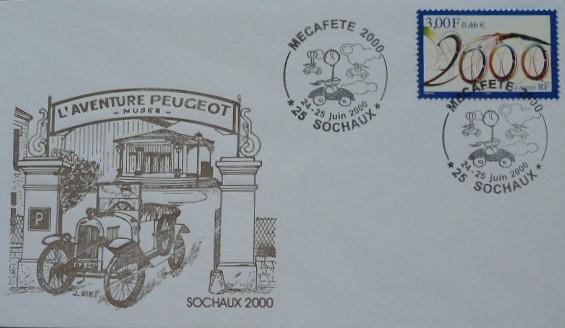 Peugeot-Modelle auf Sonderdrucken_8