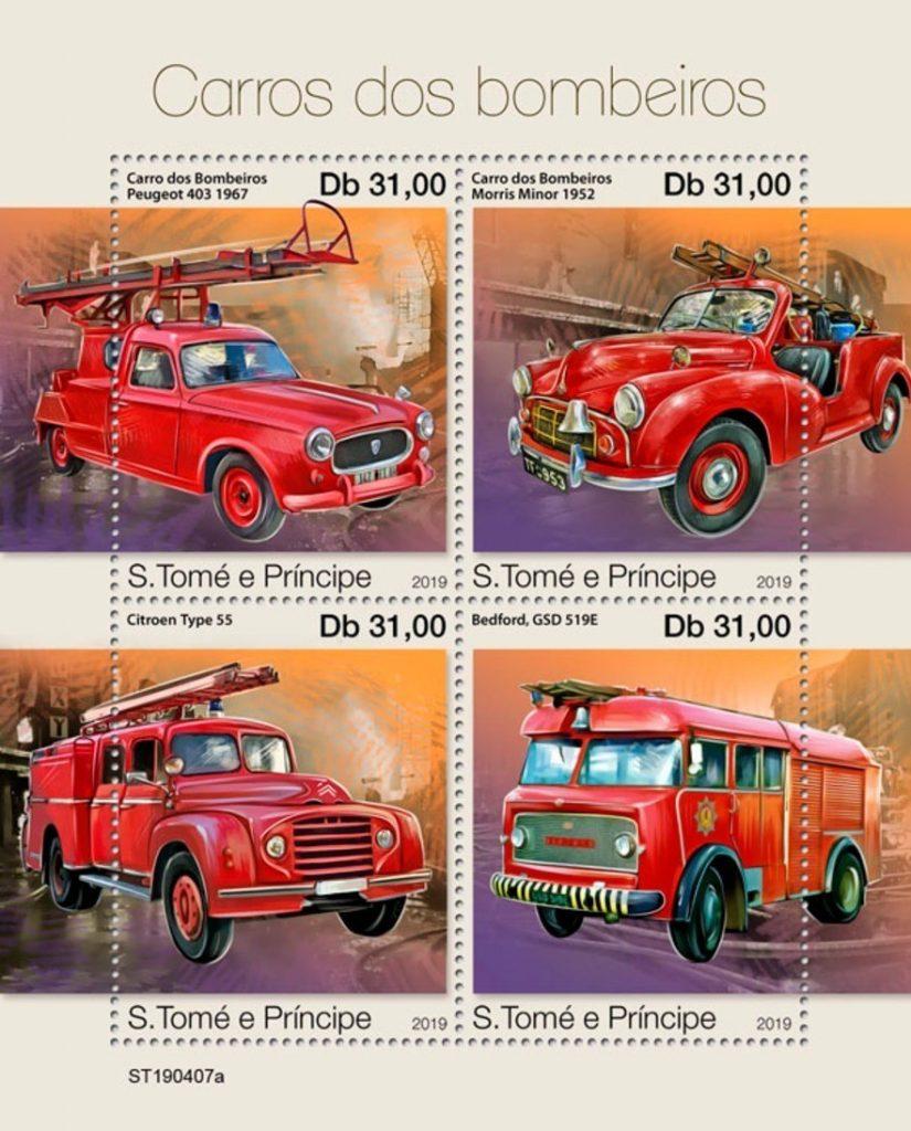 Peugeot-Modelle auf Einzelmarken, sätzen und Blöcken_5