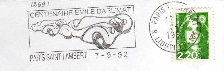 Peugeot-Modelle auf Stempeln_2