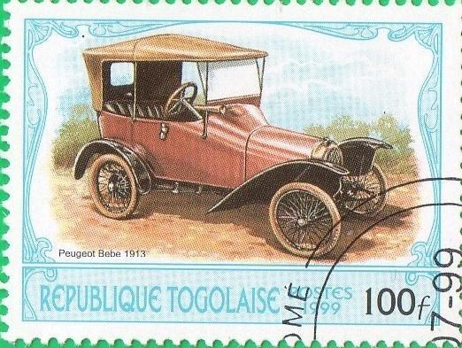 Peugeot-Modelle auf Einzelmarken, sätzen und Blöcken_2