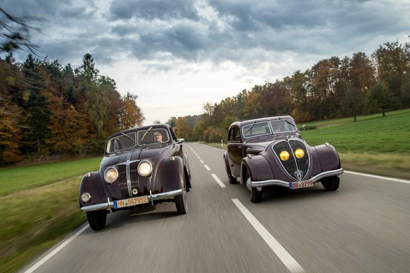 Aufmacher-Foto Fahrbericht Motor Klassik 3/17: Fahrbericht Adler 2,5 Liter und Peugeot 402.