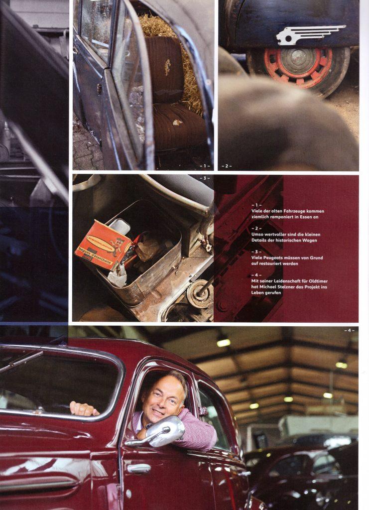 """Artikel aus der Peugeot-Kundezeitschrift """"Impress Yourself"""", Ausgabe Herbst/Winter 2019/2020 - Teil 4"""