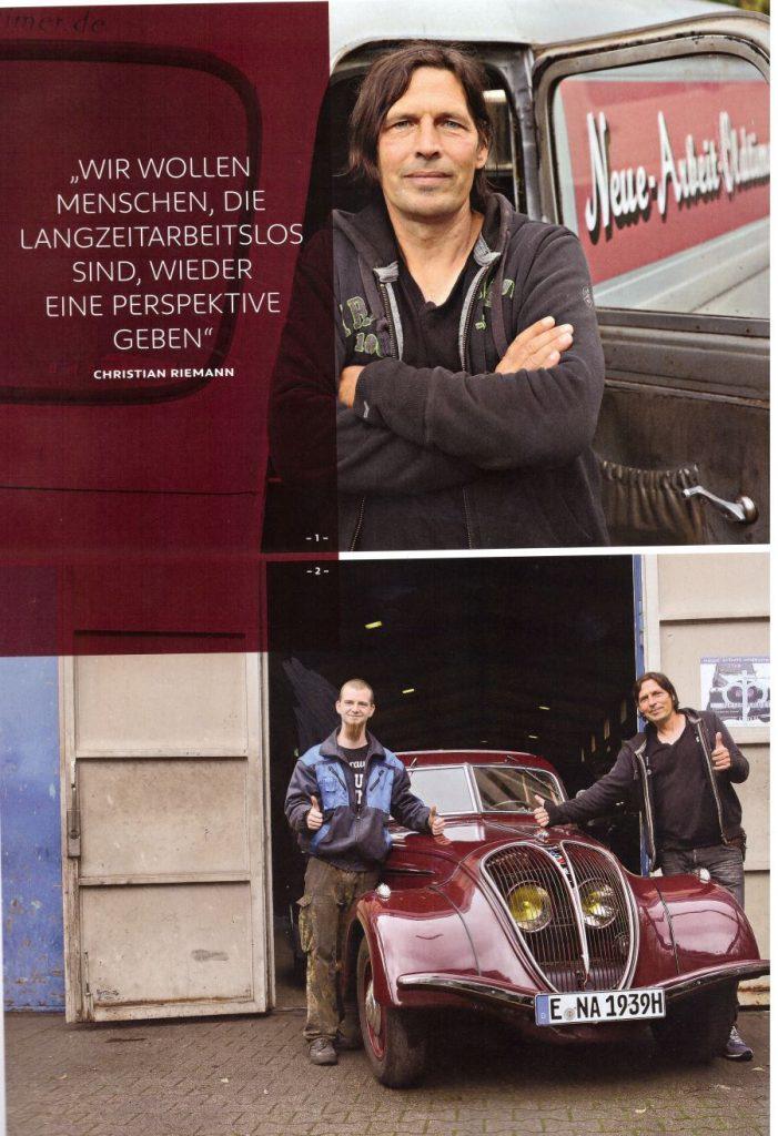 """Artikel aus der Peugeot-Kundezeitschrift """"Impress Yourself"""", Ausgabe Herbst/Winter 2019/2020 - Teil 5"""