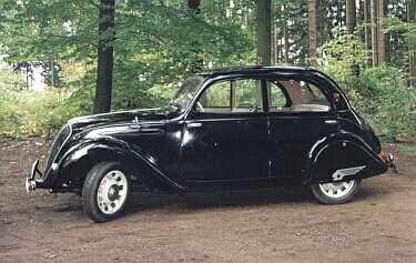 Peugeot 202 Berline Luxe von 1939