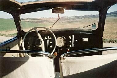 Peugeot 202 Innenraum