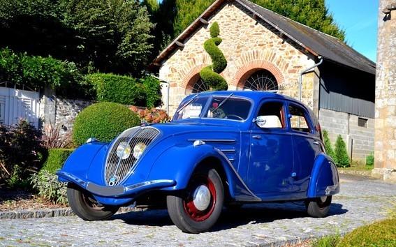 Peugeot Typ 302 Seitenansicht