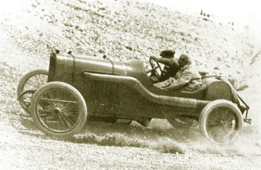 1912 - Boillot auf Peugeot L 76