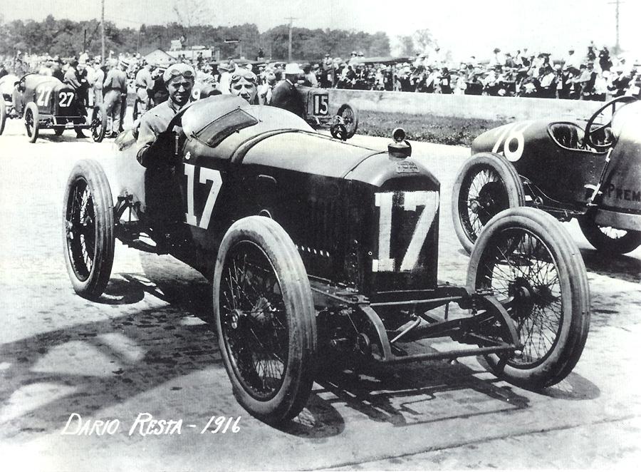 1916 - Dario Resta auf L 56