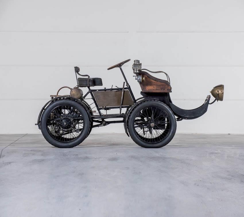 Lion-Peugeot Quadricycle aus dem Jahr 1903
